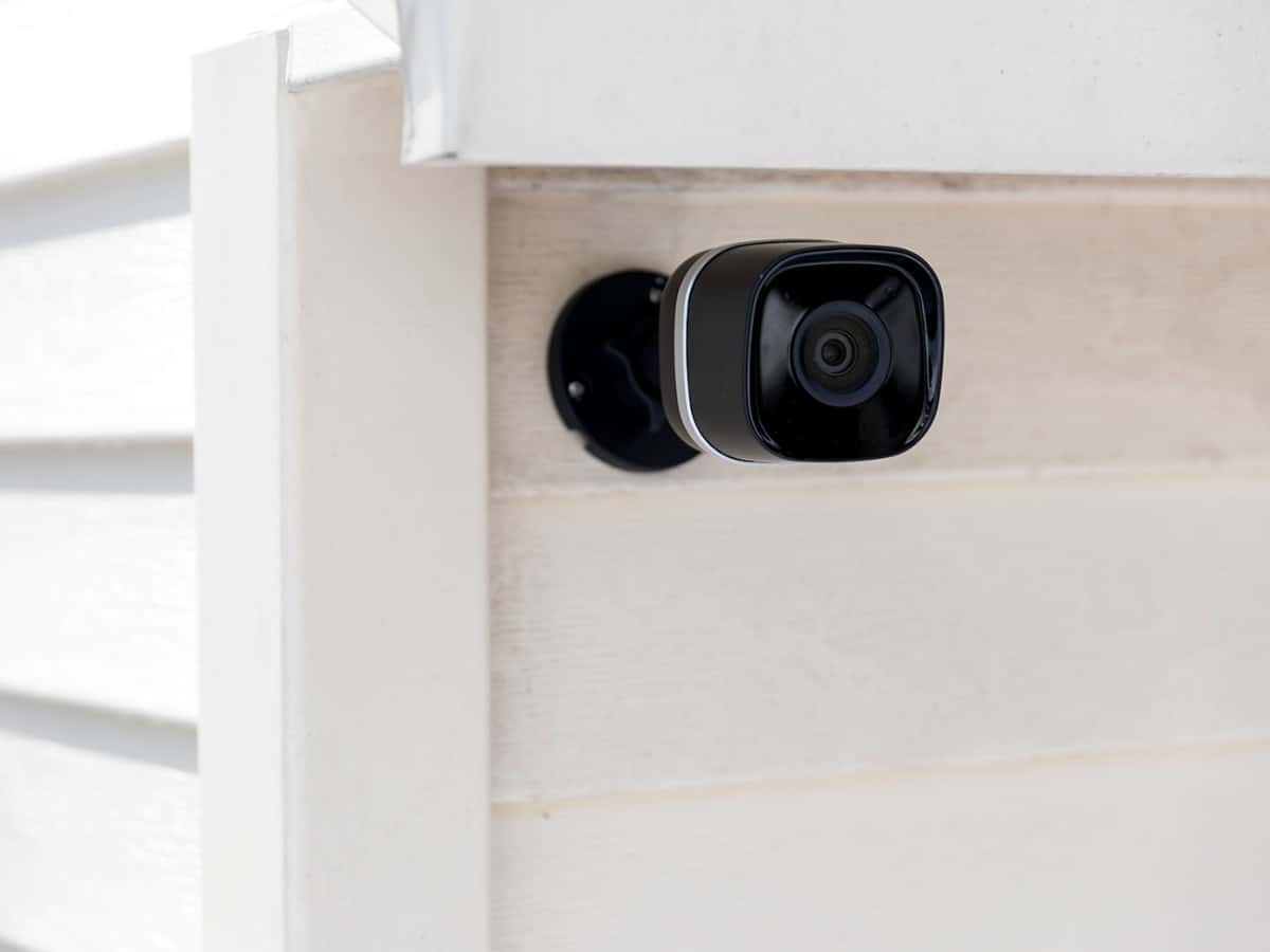 arlo camera on outside of home