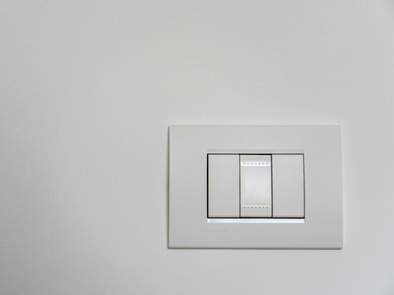 smart light switch with 3 buttons