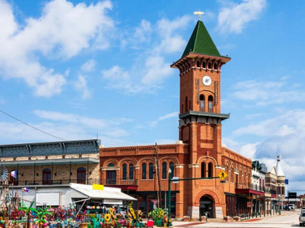 downtown grapevine texas building