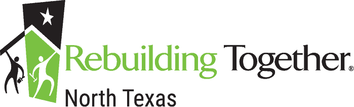 Rebuilding Together North Texas green and black logo