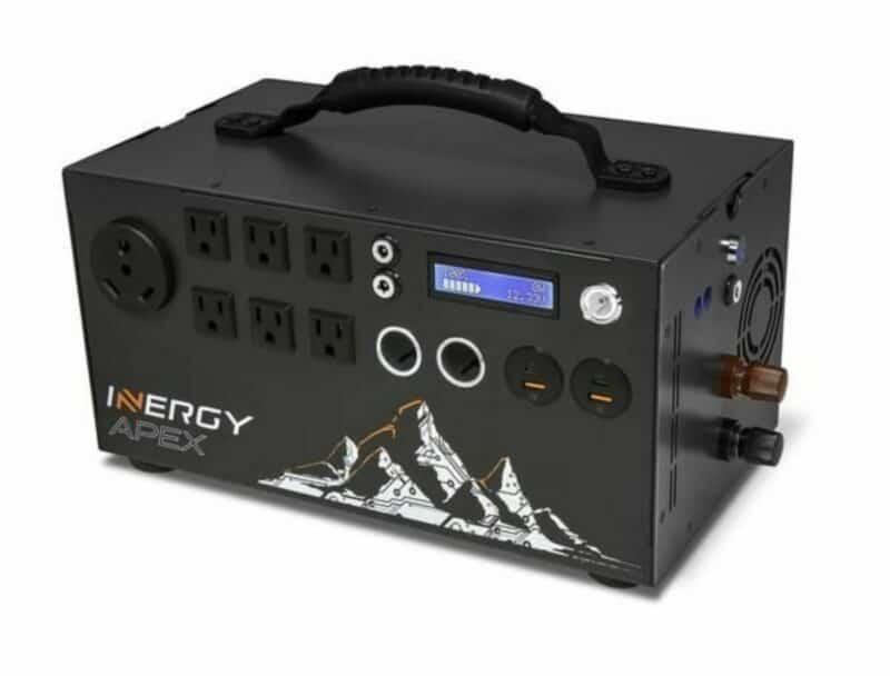 an inergytek solar power backup generator or battery