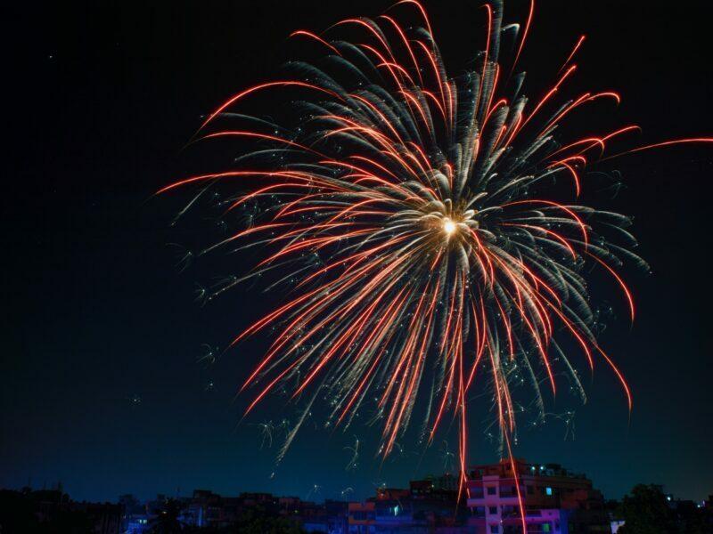 large fireworks for july fourth